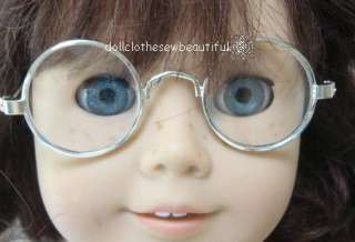 DOLL CLOTHES fits American Girl Molly Silver Eyeglasses