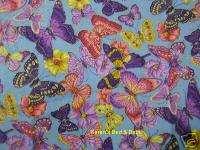 Summer Spring Purple Pink Butterflies Butterfly Floral Girl Blue