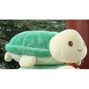 male Large Soft Toy Animal Big Green Sea Turtle Plush stuffed cushion