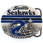NFL Seattle Seahawks Football Helmet Belt Buckle SFB155