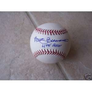 Marty Brennaman Cin. Reds Signed Official Ml Ball   Autographed