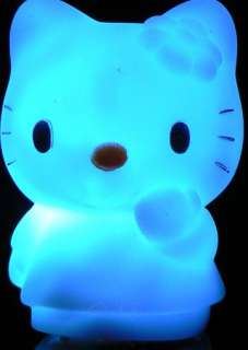 hello kitty night light LED colors changing lamp