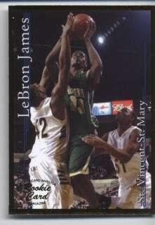 LeBRON JAMES 2002 SPORTS CARD INVESTOR #5 GOLD BORDER