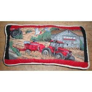 Case Farm Tractor Throw Pillow
