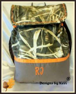 Designs by Keri LG Max 4 camo Back Pack or Diaper bag large and roomy