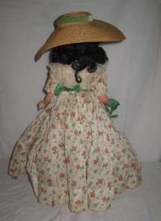 1930s 40s MADAME ALEXANDER 18 COMPOSITION SCARLETT OHARA DOLL