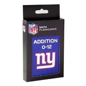 NFL New York Giants Addition Flash Cards Sports