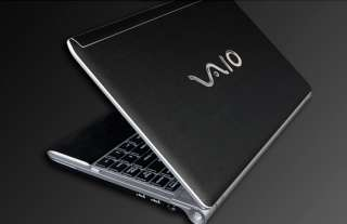 Sony VAIO Y Series Laptop Cover Skin   Deep Black Leath