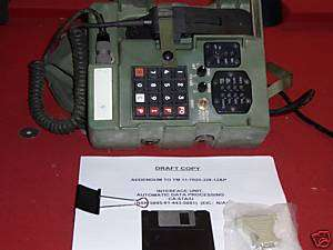 ARMY TELEPHONE FIELD PHONE RADIO CA 67 A/U W/MANUAL