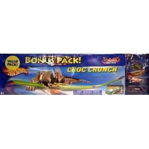 Hot Wheels Croc Crunch Track Aces Bonus Pack Toys & Games