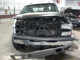 from this vehicle 2004 CHEVY SILVERADO 1500 PICKUP Stock # TG8050