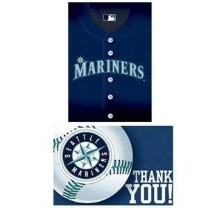Seattle Mariners Baseball   Invite & Thank You Combo Toys