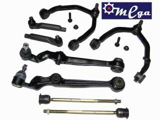 UPPER LOWER CONTROL ARMS TIE RODS BALL JOINTS BUSHINGS
