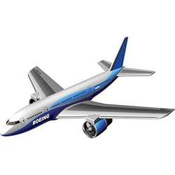 Boeing 737 Remote Control Toy Airplane