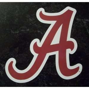 Alabama Crimson Tide A Logo NCAA Car Magnet Sports