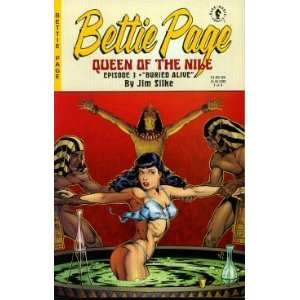Betty Page (Queen of the Nile, #1 #3) Jim Silke Books