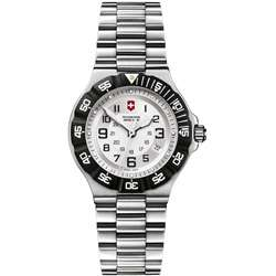 Victorinox Swiss Army Womens Summit XLT Stainless Steel Silver Dial