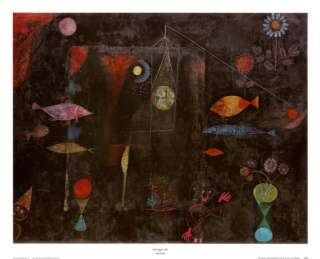 Fish Magic Prints by Paul Klee at AllPosters