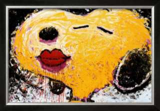 Peanuts: Snoopy, Dog Lips Prints by Tom Everhart at AllPosters