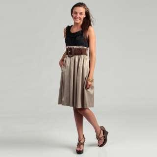 Jessica Howard Womens Pleated Shirt Dress  Overstock