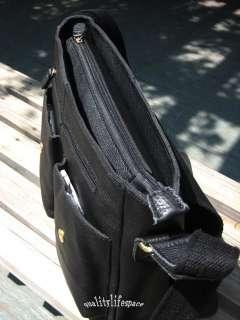 New Mens Real leather shoulder bag Messenger Bags Briefcases Black