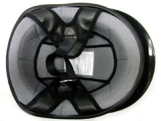 Gloss Black Motorcycle Half Helmet Scooter DOT Biker~M