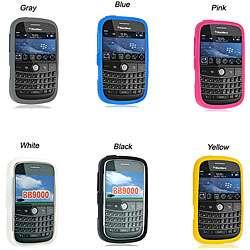 Blackberry Bold 9000 Premium Silicone Skin Case