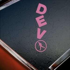 Devo Pink Decal Rock Band Car Truck Bumper Window Pink