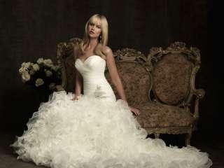 mermaid bridal wedding dress gown prom custom Sweetheart lace up