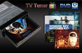 Inch 1 Din Car DVD Player Support IPOD Bluetooth TV RDS