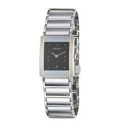 Integral Stainless Steel/ Ceramic Quartz Watch