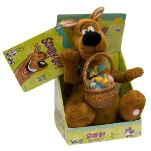 Scooby Doo Animated 8 Easter Lollipop Plush Toys & Games