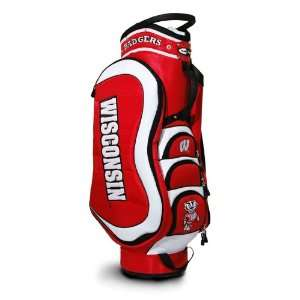 Badgers Medalist Golf Cart Bag by Team Golf