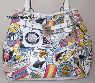 Kathy Van Zeeland Postman Travel Tote Bag Purse Shopper
