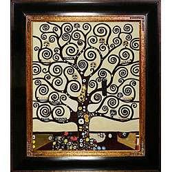 Gustav Klimt Tree of Life Canvas Art
