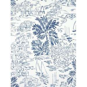 Ralph Lauren LWP60755W HOMEPORT NOVELTY   MARINE Wallpaper