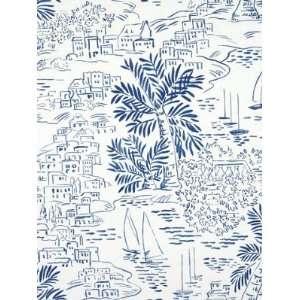 Ralph Lauren LWP60755W HOMEPORT NOVELTY   MARINE Wallpaper