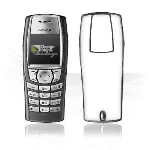 Design Skins for Nokia 6610   White Design Folie