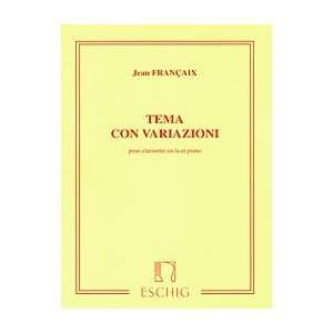 Tema con Variazioni (Theme and Variations) Unknown