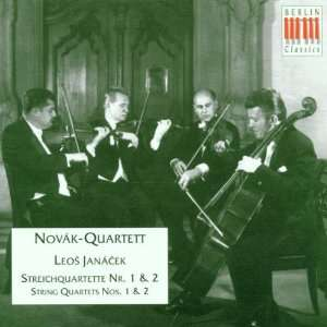 String Quartets 1 & 2 Janacek, Novak Quartet Music