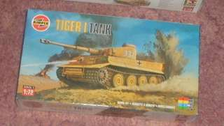 Airfix 1/72 German Tiger I Tank Kit SEALED