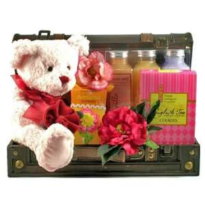 Beary Special Mom   Mothers Day Bath and Body Gift Basket for Her