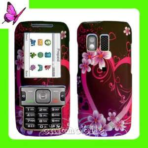 New STRAIGHT TALK Case Cover Samsung R451C 451 2D HEART