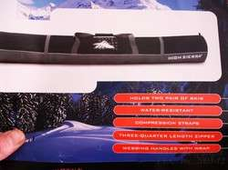 WARRANTY BLACK HIGH SIERRA S4115/S4050 DOUBLE SKI & BOOT BAGS COMBO