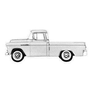 1956 Chevrolet 3100 Classic Truck   General Motors Wood