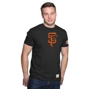 San Francisco Giants Fashion T Shirt Majestic Select Black SF