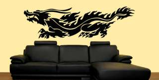Chinese Dragon Ornamental Mural Vinyl Sticker Decal 6FT