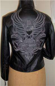 Harley Davidson Leather Jacket Isis Tribal Eagle Butter Soft