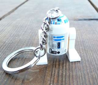 LEGO Star Wars R2D2 Key Chain Keychain Cute