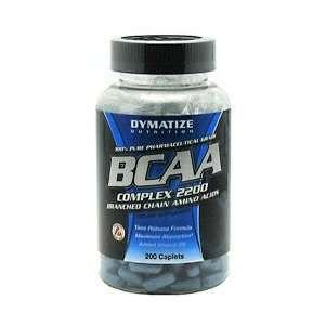 Dymatize BCAA Complex 2200   200 Caplets   Amino Acid